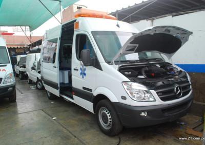 Instalación Aire Acondicionado | Ambulancia Mercedes Sprinter