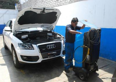 Recarga de Gas Refrigerante R134a | Audi Q5