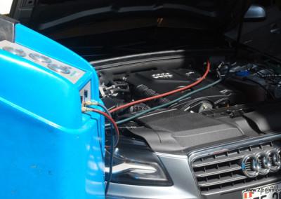 Recarga de Gas refrigerante R134a | Audi A6