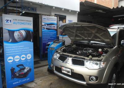 Recarga de Gas Refrigerante R134a | Mitsubishi