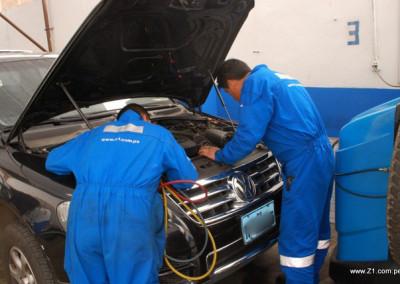 AC Revisión diagnostico VW Toureg
