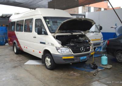 Carga de Gas Refrigerante R134a | Mercedes Sprinter