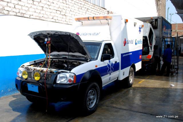 Instalación Aire Acondicionado | Ambulancia Nissan Frontier