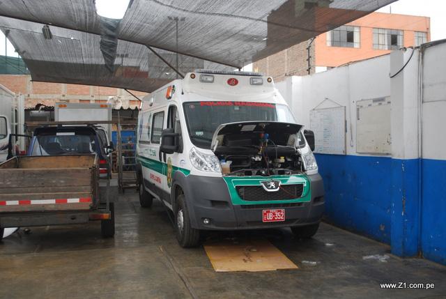 Instalación Aire Acondicionado | Ambulancia Peugeot Boxer