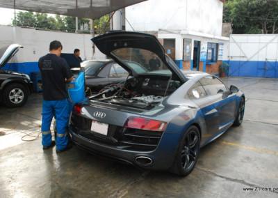 Aire Acondicionado Recarga de Gas R134a Audi R8