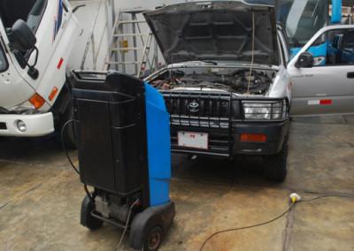 Aire Acondicionado Recarga de Gas R134a Toyota Hilux