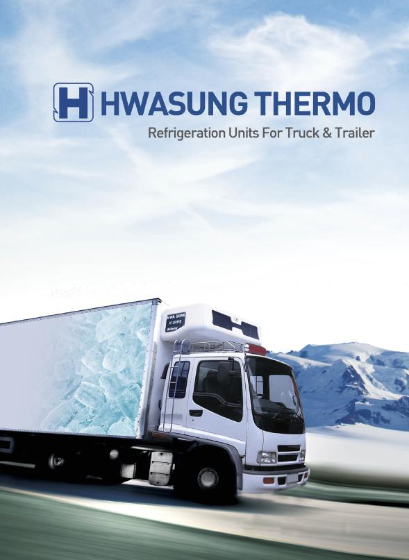 Camion con equipo Hwasung Thermo diesel instalado