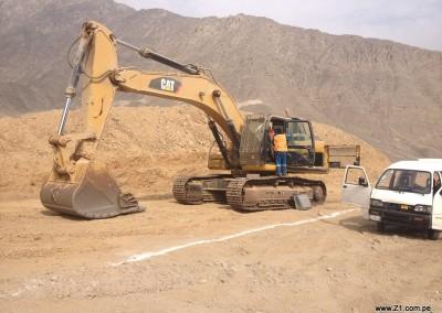 Instalación Aire Acondicionado | Maquinaria Minera | Excavadora Caterpillar