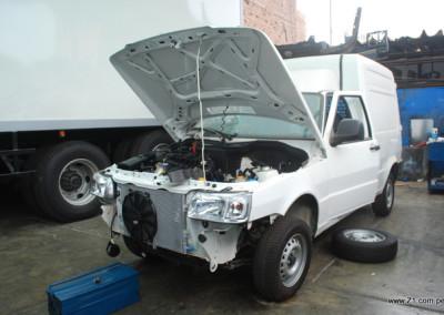 Instalación AC Fiat Fiorino
