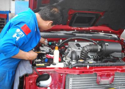 Instalación AC Nissan Frontier