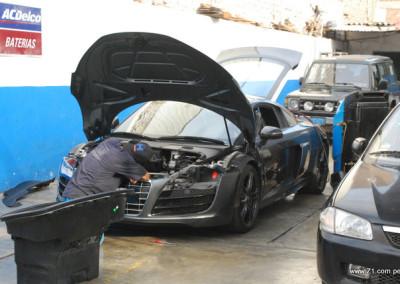 Revisión Sistema Aire Acondicionado Audi R8