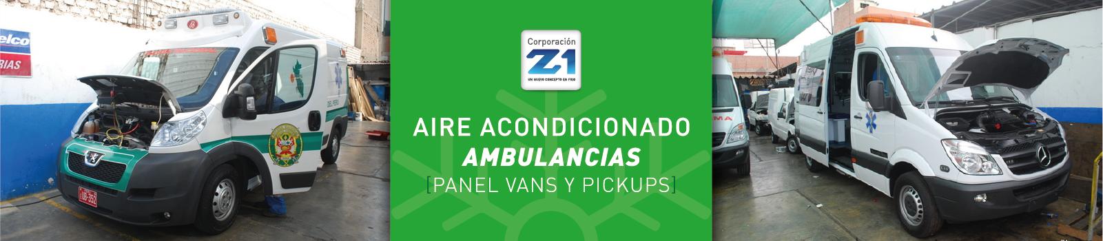 Aire Acondicionado para Ambulancias