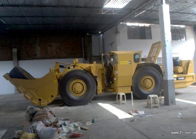 Instalación Aire Acondicionado Scoop Caterpillar R1600H