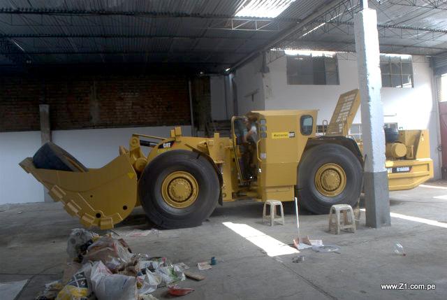 Instalación Aire Acondicionado | Maquinaria Minera | Caterpillar Scoop R1600H