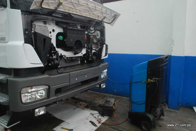 Instalación Aire Acondicionado | Mercedes Benz Atego