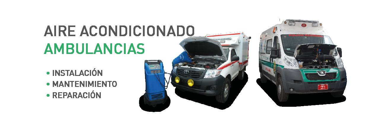 Instalación y Mantenimiento AC Ambulancias