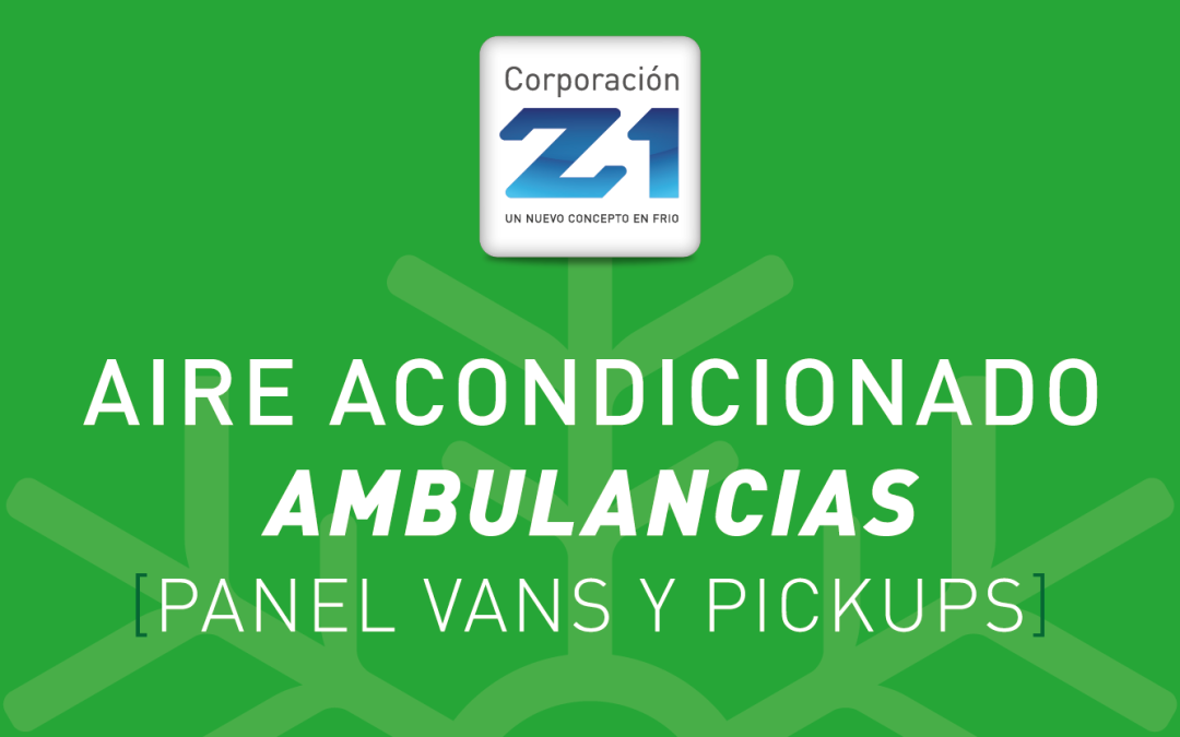 Z1 Aire Acondicionado Ambulancias