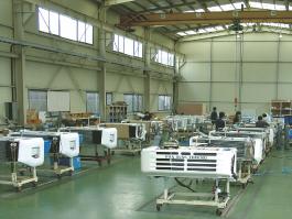 Vista interior de la fabrica de Hwasung Thermo en Corea del Sur